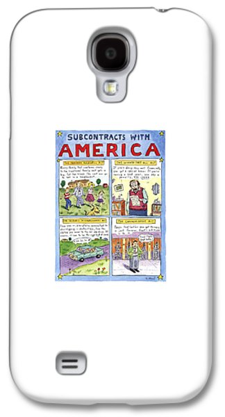 New Yorker January 16th, 1995 Galaxy S4 Case