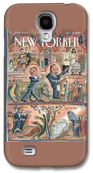 New Yorker January 18th, 1999 Galaxy S4 Case