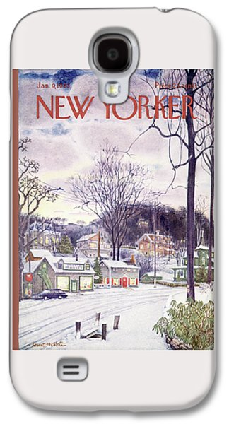 New Yorker January 9th, 1965 Galaxy S4 Case