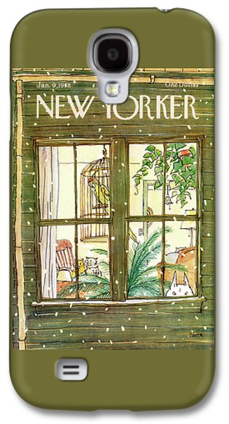 New Yorker January 9th, 1978 Galaxy S4 Case