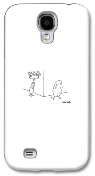 Potato Galaxy S4 Case - New Yorker January 9th, 1995 by Charles Barsotti