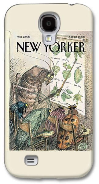 New Yorker July 10th, 2000 Galaxy S4 Case