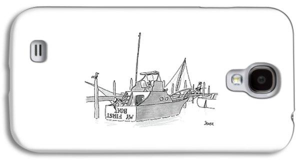 New Yorker July 11th, 1988 Galaxy S4 Case by Jack Ziegler