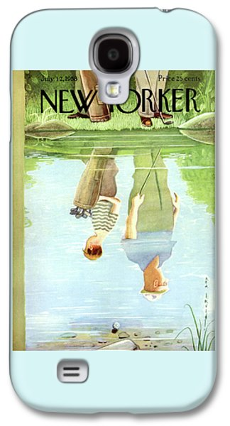 New Yorker July 12th, 1958 Galaxy S4 Case by Rea Irvin