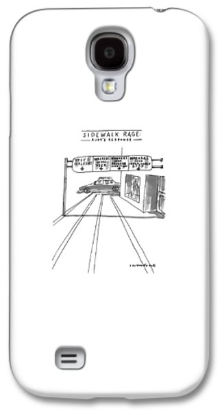 New Yorker July 12th, 1999 Galaxy S4 Case