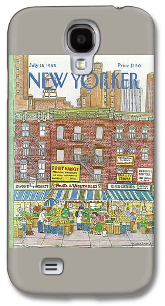 New Yorker July 18th, 1983 Galaxy S4 Case