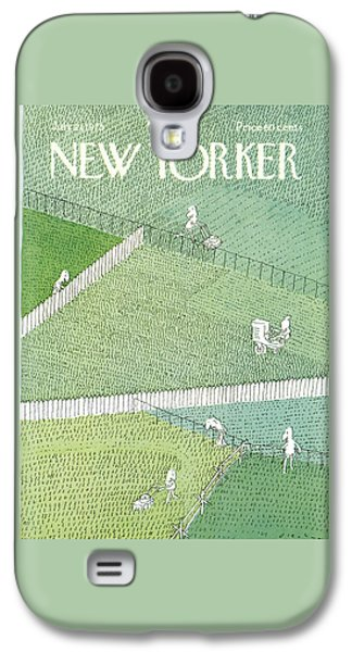 New Yorker July 21st, 1975 Galaxy S4 Case