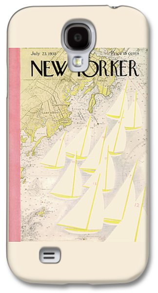 New Yorker July 23rd, 1938 Galaxy S4 Case