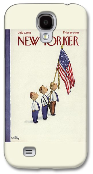New Yorker July 2nd, 1955 Galaxy S4 Case