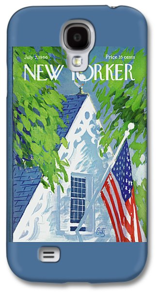 New Yorker July 2nd, 1966 Galaxy S4 Case