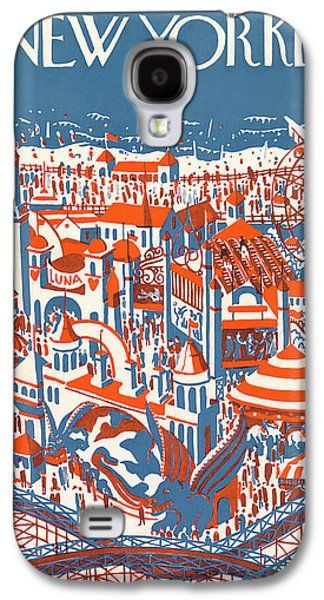 New Yorker July 4th, 1925 Galaxy S4 Case by Ilonka Karasz