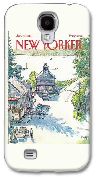New Yorker July 4th, 1983 Galaxy S4 Case