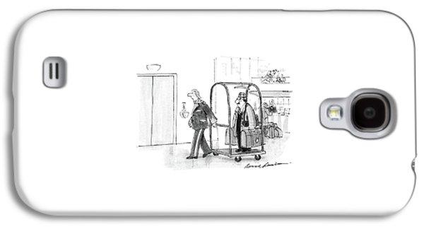 New Yorker July 4th, 1988 Galaxy S4 Case by Bernard Schoenbaum