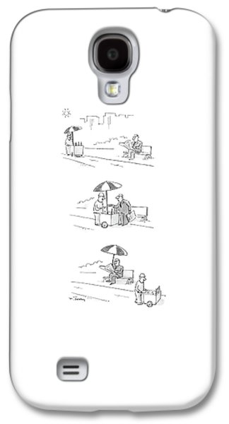 New Yorker July 4th, 1988 Galaxy S4 Case by Mike Twohy