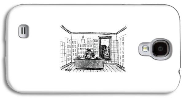 New Yorker July 4th, 1988 Galaxy S4 Case by Warren Miller