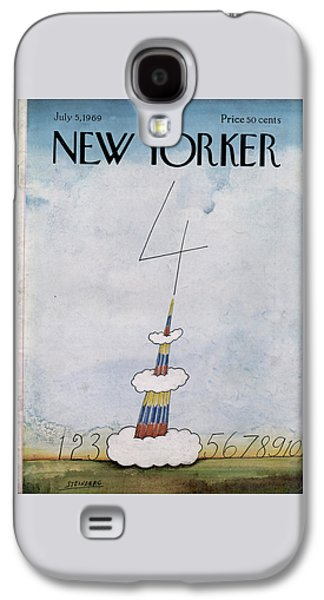 New Yorker July 5th, 1969 Galaxy S4 Case