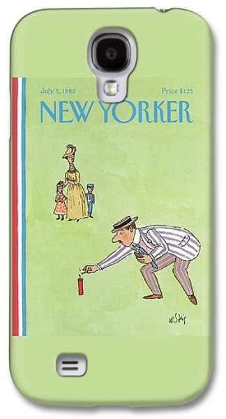 New Yorker July 5th, 1982 Galaxy S4 Case