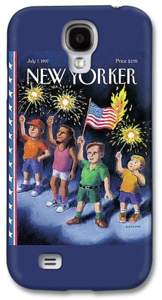 New Yorker July 7th, 1997 Galaxy S4 Case