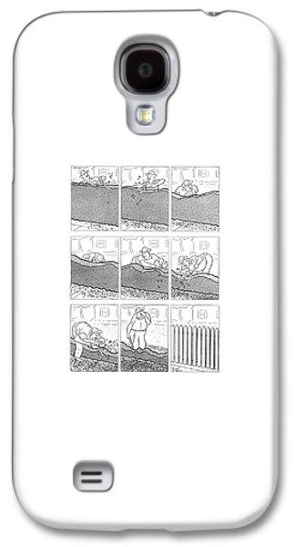 New Yorker June 14th, 1941 Galaxy S4 Case by Richard Decker