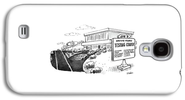 New Yorker June 29th, 1987 Galaxy S4 Case by Dana Fradon