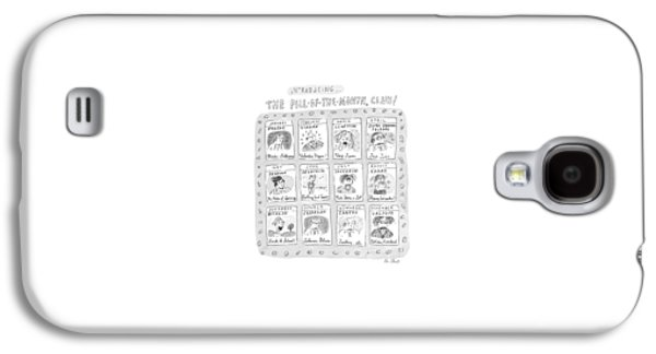 New Yorker June 8th, 1998 Galaxy S4 Case by Roz Chast