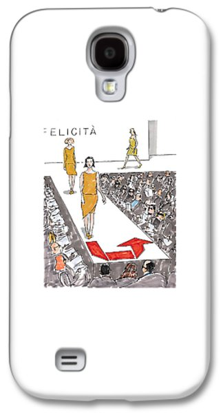 New Yorker March 22nd, 1999 Galaxy S4 Case by Michael Crawford