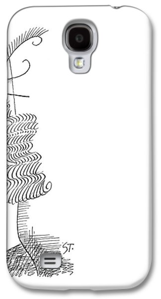 New Yorker March 30th, 1963 Galaxy S4 Case by Saul Steinberg