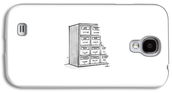 New Yorker March 7th, 1977 Galaxy S4 Case by Dana Fradon