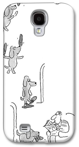 New Yorker May 10th, 1999 Galaxy S4 Case by Arnie Levin