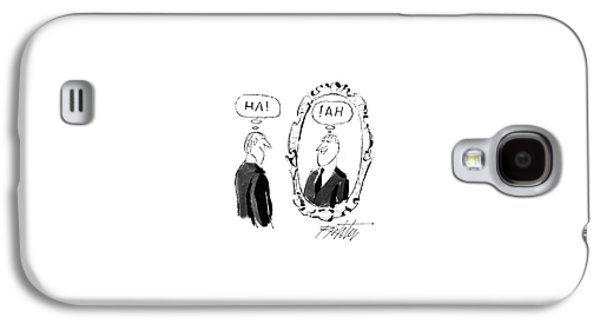 New Yorker May 18th, 1987 Galaxy S4 Case by Mischa Richter
