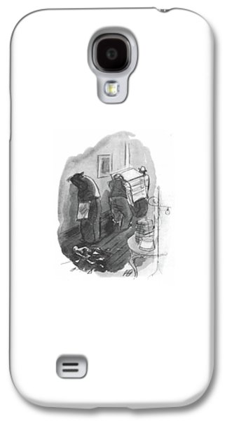 New Yorker May 1st, 1943 Galaxy S4 Case by Perry Barlow