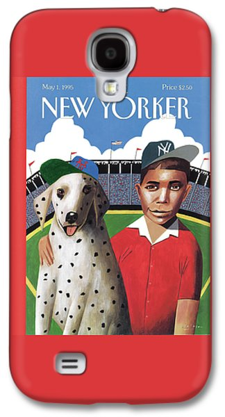New Yorker May 1st, 1995 Galaxy S4 Case
