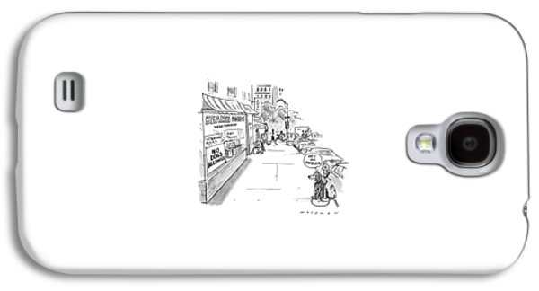 New Yorker May 20th, 1991 Galaxy S4 Case by Bill Woodman