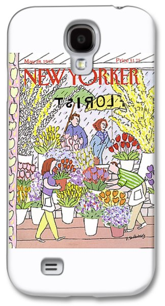 New Yorker May 28th, 1990 Galaxy S4 Case