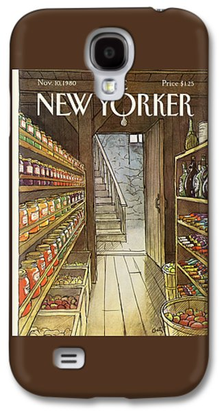 New Yorker November 10th, 1980 Galaxy S4 Case
