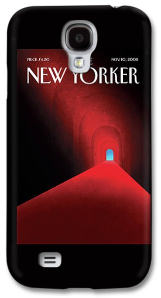 New Yorker November 10th, 2008 Galaxy S4 Case by Brian Stauffer