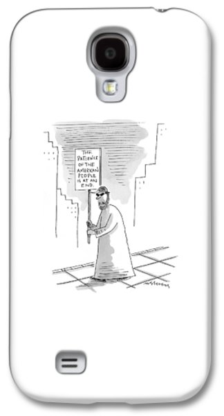 New Yorker November 16th, 1998 Galaxy S4 Case by Mick Stevens