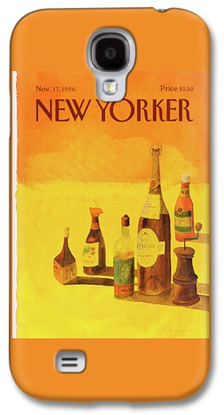 New Yorker November 17th, 1986 Galaxy S4 Case by Abel Quezada