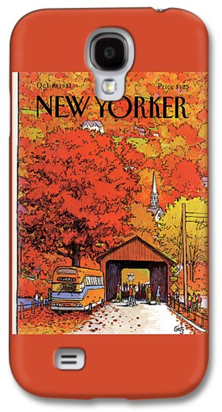 New Yorker October 19th, 1981 Galaxy S4 Case