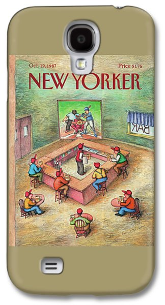 New Yorker October 19th, 1987 Galaxy S4 Case