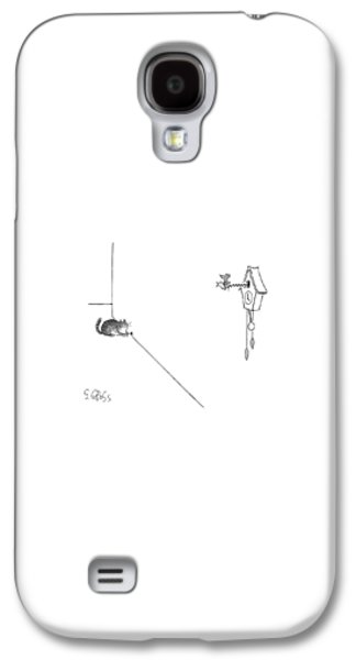 Cuckoo Galaxy S4 Case - New Yorker October 19th, 1998 by Sam Gross