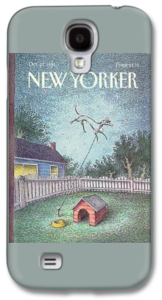 Constellations Galaxy S4 Case - New Yorker October 21st, 1991 by John O'Brien