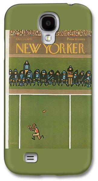 New Yorker October 24th, 1970 Galaxy S4 Case by Charles E. Martin