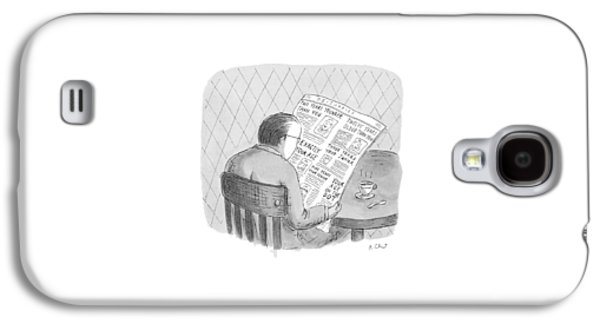 New Yorker October 25th, 1993 Galaxy S4 Case by Roz Chast