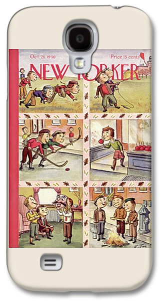 New Yorker October 26th, 1940 Galaxy S4 Case