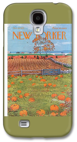 New Yorker October 28th, 1972 Galaxy S4 Case