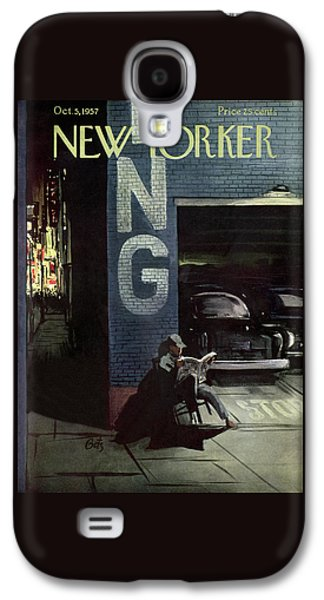 New Yorker October 5th, 1957 Galaxy S4 Case