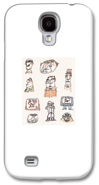 New Yorker September 13th, 1999 Galaxy S4 Case by William Steig