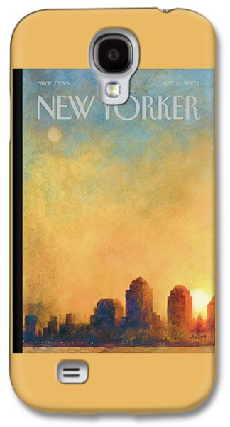 New Yorker September 16th, 2002 Galaxy S4 Case by Ana Juan