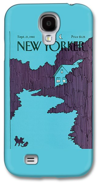 New Yorker September 21st, 1981 Galaxy S4 Case